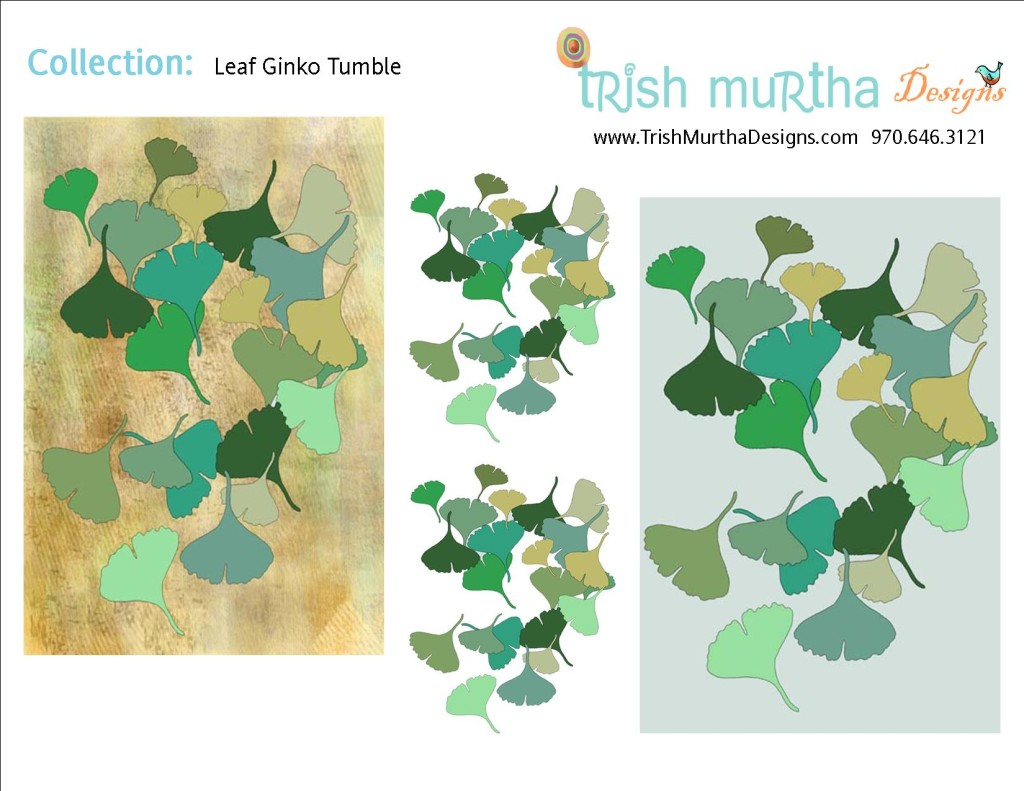 Collection Sheet - Leaf Ginko Tumble